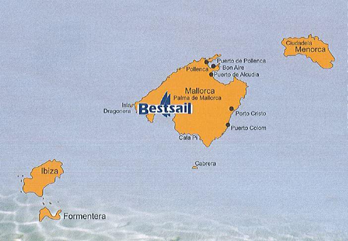 Porto Cristo Karte.Barone Yachting Spanish Islands Yacht Charter Itinerary From